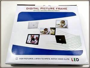 "BigTron 12"" HD LED 4:3 digitaler Foto Bilderrahmen Picture Frame Video Display"