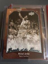 Michael Jordan Greats of the Game