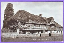 Gb Pevensey The Mint House From 1342 Ad Postcard