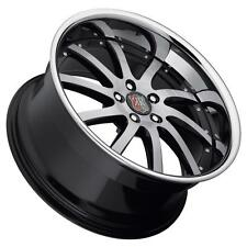 Roderick RW4 19x9.5 5x112 Black Wheels(set of 4)