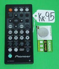 PIONEER CU-PDV003 LCD TV/DVD REMOTE CONTROL PDV-10 PDV-LC10 PD-1974