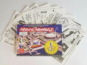 Micromodels FESTIVAL OF BRITAIN 1951 SET FB Micro New Models card model kit