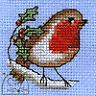 Robin Stitchlet With card & Envelope by Mouseloft