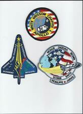 New Official Nasa Space Program Fallen Heroes Patch Set Apollo Shuttle Made in