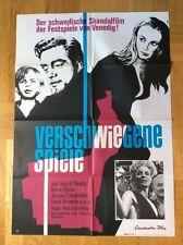 Verschwiegene Spiele (A, Kinoplakat '66) - Ingrid Thulin / Keve Hjelm