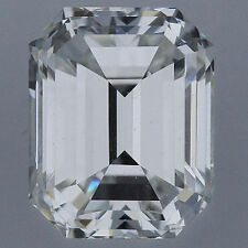 1.52 carat Emerald cut Diamond GIA G color VS2 clarity no flour. Excellent loose