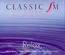 Classic FM - Relax 1999 Ralph Vaughan Williams, Johann New Sealed Music Audio CD