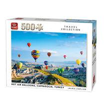 500 Piece Landscape Jigsaw Puzzle Hot Air Balloons Cappadocia Turkey Flying 5538