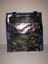 disney parks snow white evil queen apple metallic shoulder bag purse new w tag