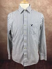 American Eagle Outfitters Vintage Fit Button Front Blue Stripe Shirt Men's M