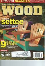 Better Homes And Gardens - Wood Magazine August  200 Issue No. 125