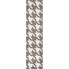 Safavieh Grey/ Ivory Flat weave Wool 2' 6 x 8' Runner - DHU569A-28
