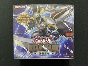 Details about  /yugioh Star Pack 2014 English 1st Edition Booster Packs factory sealed Box