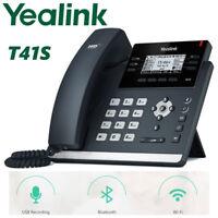 Yealink SIP-T41S IP Desk Business Phone 6-Line Optima HD WiFi Bluetooth USB