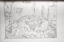 Lithography original - George Grosz - Ecce Homo - Apachen - 1923