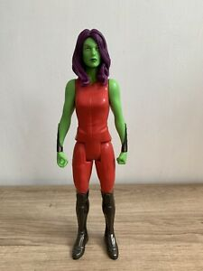 "Marvel Titan Hero Series Guardians Of The Galaxy 12"" Gamora Action Figure In VGC"
