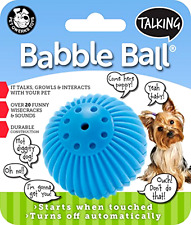 Pet Qwerks Talking Babble Ball Dog Toy For Small Dogs Small Dog Toy