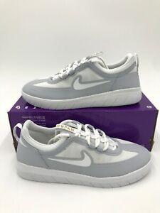 Nike SB Nyjah Free 2 Men's size 5.5 woman's size 7 Grey White shoes BV2078 006