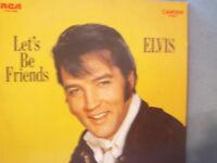 "Elvis Presley Let's Be Friends 33 RPM 12"" Vinyl LP Camden CAS-2408"