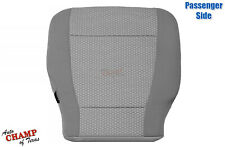 2017 18 19 2020 Ford F-250 F-350 XLT-Passenger Side Bottom Cloth Seat Cover Gray