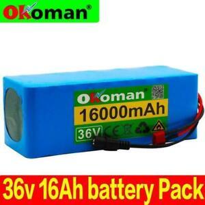 36v 16ah Electric Bike Battery Built In 20a Bms Pack 36 Volt Wit