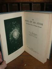THE SOUL OF AN ATOM W B VERSCHOYLE THE PHYSICAL BASIS HUMAN SURVIVAL 1ST EDITION