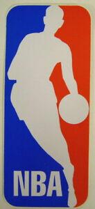 """NBA Basketball League Logo  Bumper Window Wall Backboard Sticker 3-1/8"""" X 7-3/8"""""""