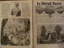 LE JOURNAL ILL 1867 N 171 L'AQUARIUM DE L'EXPOSITION