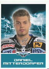 D. Mitterdorfer Black Wings Linz 2011-12 TOP AK Orig. Sign. Eishockey +A38212