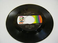 Kitty Wells I Don't See What I Saw/Gonna Find Me A Bluebird 45 RPM Decca Records