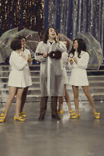 Tiny Tim in Concert TV show on stage with girls 24x36 Poster
