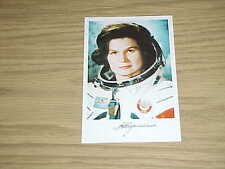 COSMONAUT VALENTINA TERESHKOVA AUTOGRAPHED SIGNED PHOTO 1ST WOMAN IN SPACE