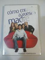 COMO CONOCI A VUESTRA MADRE PRIMERA TEMPORADA 1 COMPLETA - 3 DVD + EXTRAS - 3T