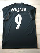 Benzema Real Madrid third jersey medium 2019 shirt Cg0584 soccer football Adidas