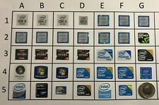 Intel Stickers AMD stickers 10th Gen AMD Ryzen Intel Pentium Any 3 Sticker £2.99