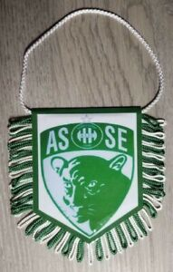 FANION  FOOTBALL ASSE AS St ETIENNE  LA PANTHERE LES VERTS N°2