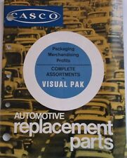 1970 Casco Visual Pack Manual Parts Catalog 1960s