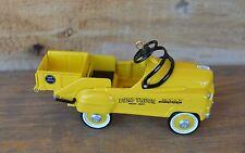 'Heavy Duty' Yellow Dump Truck Murray 1997 Hallmark Kiddie Classic Car Ornament