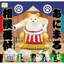 Animal Sumo Banzuke Mini Figure Collection Polar Bear Shiba Inu Dog Kitten Frog