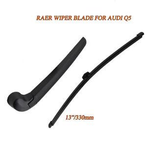 Rear Windshield Wiper Blade & Wiper ARM For Audi Q5 8R 2009-2018 OEM Quality