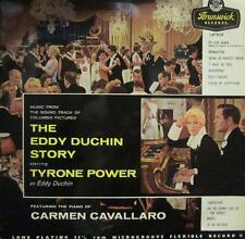 Tyrone Power(Vinyl LP)The Eddy Duchin Story -Brunswick-LAT 8119-65-Ex/VG