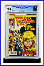 New Mutants Truth Or Death #1 CGC Graded 9.4 Marvel 1997 White Pages Comic Book