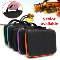 30 Bottles Essential Oil Carry Case 10ml Holder Storage Aromatherapy Hand Bag _Q