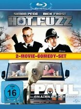 NICK FROST, SIMON PEGG - PAUL & HOT FUZZ - 2 BLU-RAY NEU