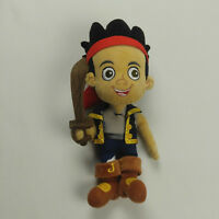 "Disney Store Captain Jake Plush Jake and the Neverland Pirates 13"" Toy"