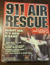 911 Air Rescue PC Game for Microsoft Flight Simulator 95 & 98
