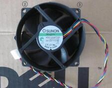 Sunon KDE1209PTVX  12V 4.4W 4Pin 90/80mm x25mm  CPU Round Cooling Fan
