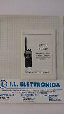 MANUALE IN ITALIANO istruzioni d'uso per YAESU FT-530
