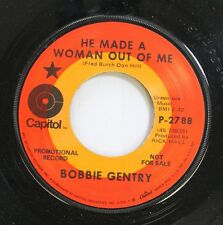 Pop Promo 45 Bobbie Gentry - He Made A Woman Out Of Me / Billy The Kid On Capito