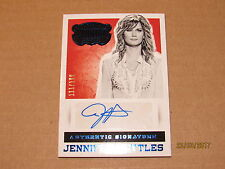 2015 Country Music Signatures Blue #61 Jennifer Nettles SN 111/199